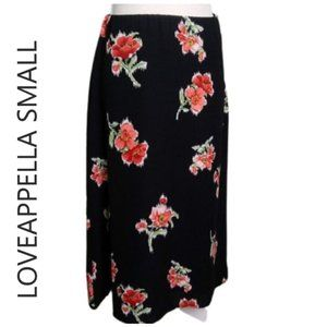 NWT loveappella floral skirt